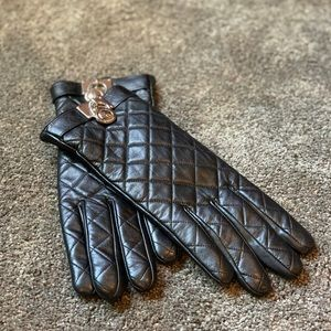 Women's Leather Michael Kors Gloves